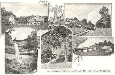 Alkoholfreies Kurhaus Blumenau-Steg und seine Umgebung
