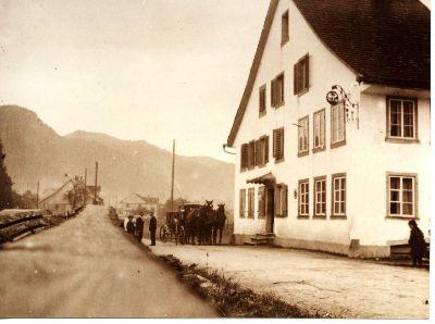 Seewadel, Gasthaus Eintracht, Störchli