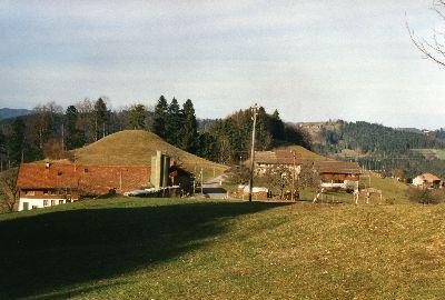 Oberer Wolfensberg mit Burghügel