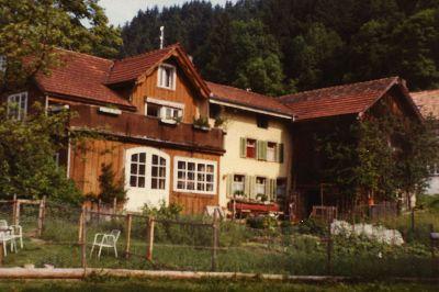 Vorder-Tüfenbach, Schreinerei, Otto Diener
