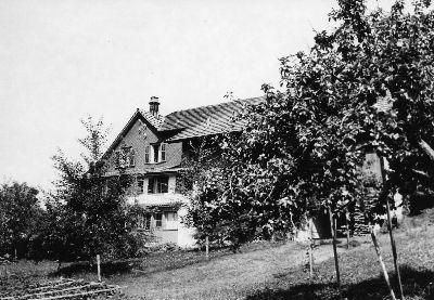 Hörnen, Haus Albert Kägi, Förster