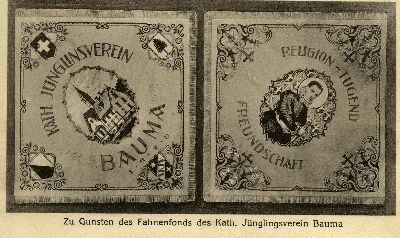 Zu Gunsten des Fahnenfonds des Kath. Jünglingsverein Bauma