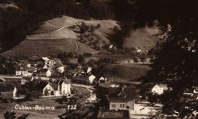 Gublen, altes Sekundarschulhaus, Chrischona Kapelle