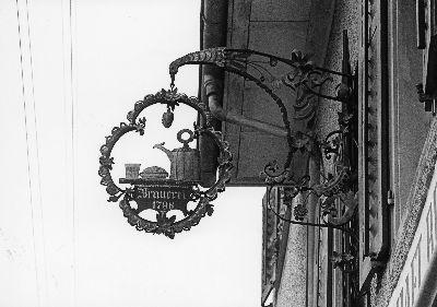 Gublen, Restaurant Brauerei, Wirtshausschild, 1796