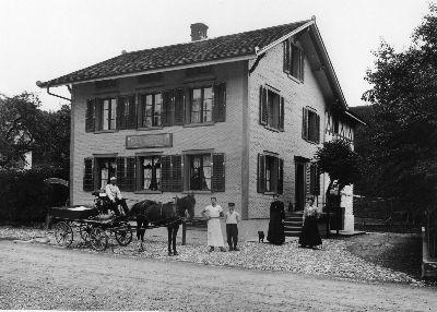 Bauma, Gublen, Restaurant Schöntal und Bäckerei, Familie Buchmann