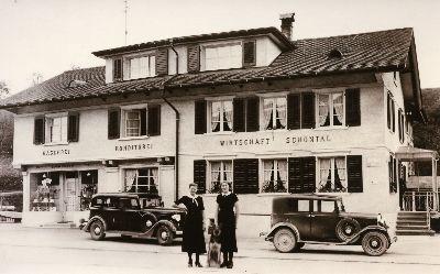 Bauma, Gublen, Restaurant Schöntal, Buchmann