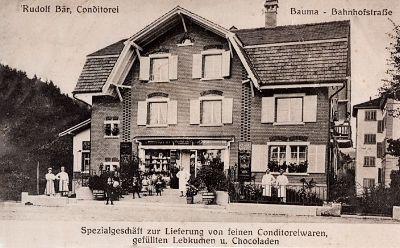 Haustafel: Café Konditorei Voland