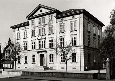 Haustafel: Zentralschulhaus, Gemeindehaus