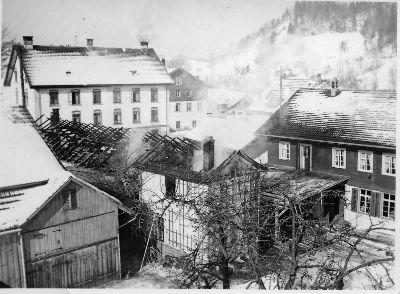 Brand in der Sägerei Wintenberger
