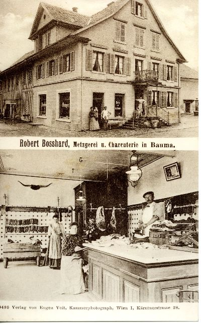 Robert Bosshard, Metzgerei u. Charcuterie in Bauma