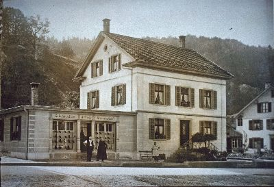 Schuhhandlung, Massgeschäft, J.Kägi