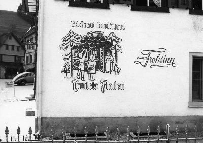 Restaurant Frohsinn, Bäckerei, Conditorei, Trudels Fladen, Bauma