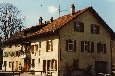 Vordere Sennhütte, Kosthaus