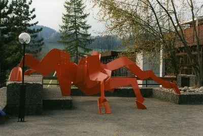Spinne: Schulanlage Altlandenberg