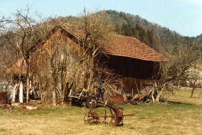 Scheune  im Uerschli