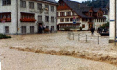 Überschwemmung des Wissenbaches