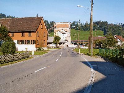 Rittweg: Kieswerk / Metzgerei Schnurrenberger
