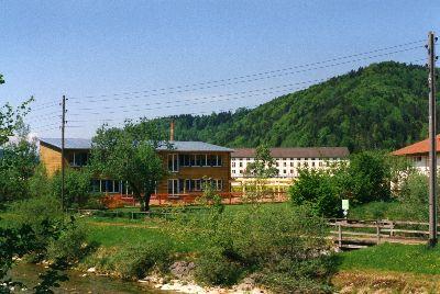Schulhaus Haselhalden, Neubau