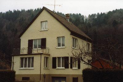 Haselhalden Haus Schweizer, Müller