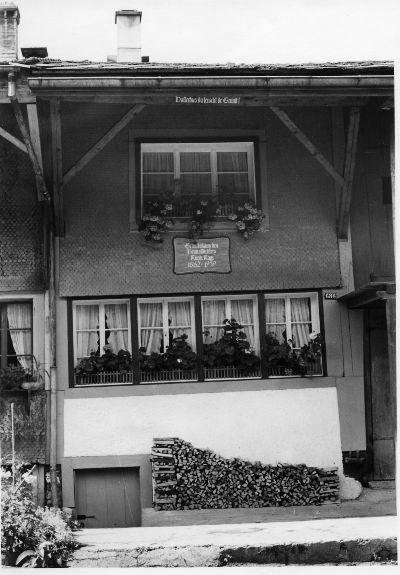 Blitterswil, Geburtshaus von Ruedi Kägi