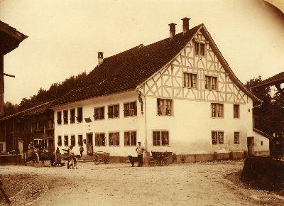 Gasthof Krone und Post Saland
