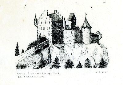 Bauma: Schloss Landenberg ob Sarnen, Kanton Obwalden