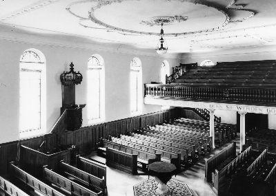 Reformierte Kirche: Innenraum