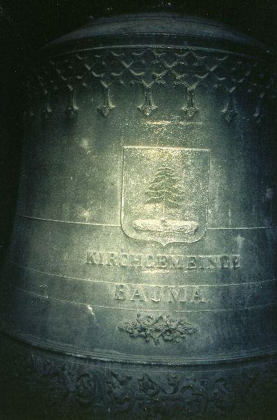Reformierte Kirche: Glocke im Turm