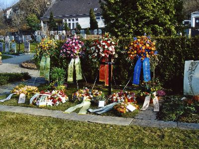 Reformierte Kirche: Friedhof