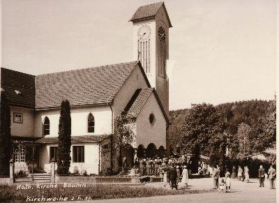 Einweihung Katholischen Kirche St. Antonius