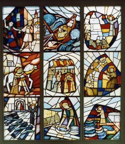 Glasfenster: Katholischen Kirche St. Antonius
