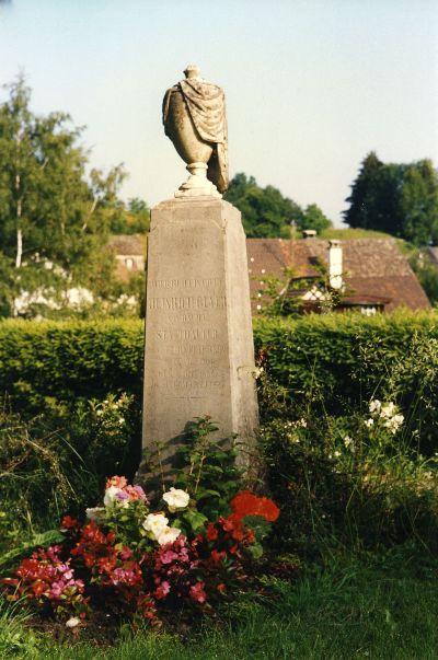 Grabmal Heinrich Gujer: 4.12.1801 - 13.3.1868