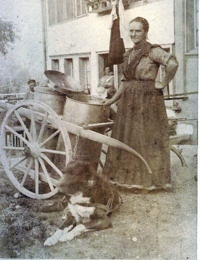 Milchfrau