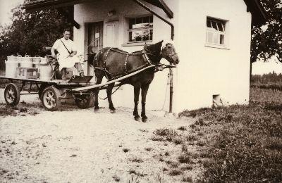 Milchmann Hans Hürlimann, Milchhüsli Neugut