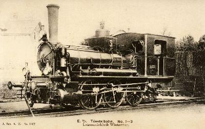 Dampflokomotive E 3/3  Nr. 1-3