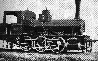 Dampflokomotive der Tösstalbahn
