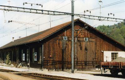 Lok Remise Bahnhof Bauma