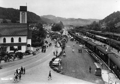 Bahnhof Bauma Zürcher Orientierungslauf
