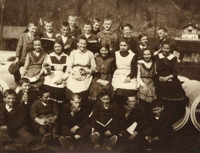 Klassenfoto: Sekundarschule