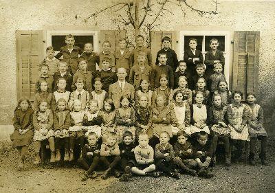 Schule Blitterswil 1931