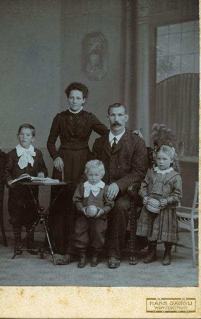 Familie Julius Thalmann