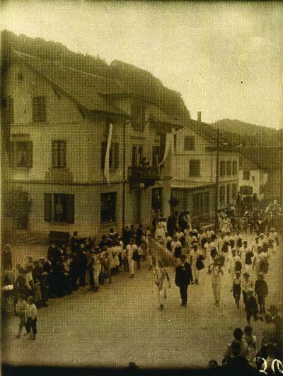 Bezirksgesangsfest in Bauma