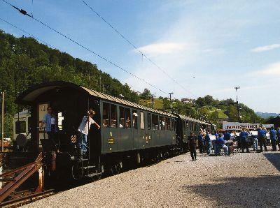 Dampfbahn - Wirten