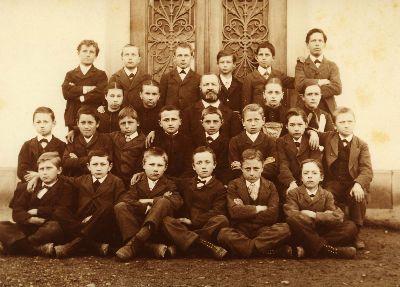 Sekundarschule Bauma 1886 / 87