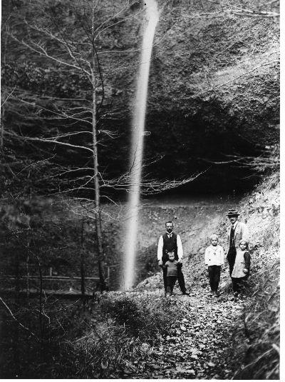 Lochbachfall unterhalb der Hohenegg