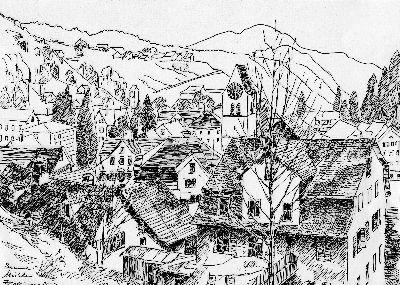 Zeichnungen von Jakob Zollinger
