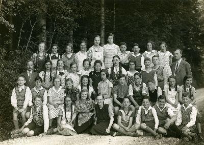 Klassenfoto Sekundarschule