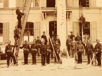 Feuerwehr Rettungscorps Bauma 1900