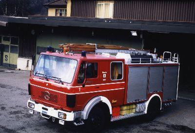 Feuerwehr Bauma: erstes TLF