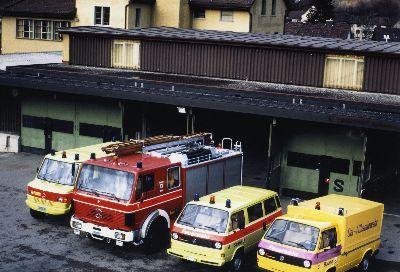 Feuerwehr Bauma: Fahrzeugpark
